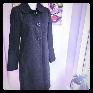 INC black trench coat
